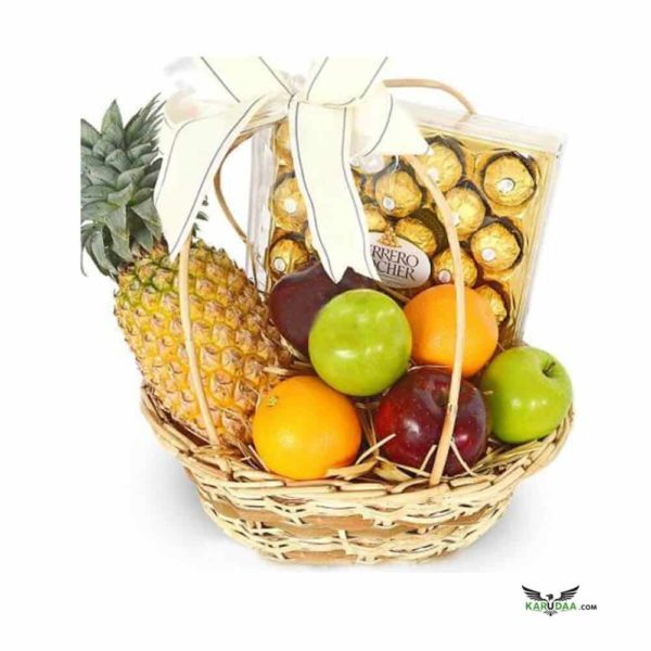 Fruit and Choco Basket