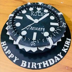 Clock Cake