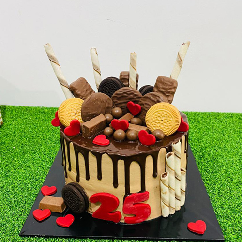 Chocolate Topping Cake