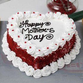 Heart-Shape Cake For Mom